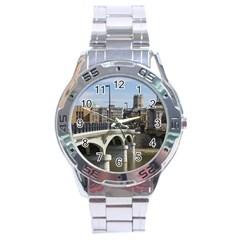 Hamilton 1 Stainless Steel Watch (Men s)