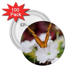 Butterfly 159 2 25  Button (100 Pack) by pictureperfectphotography