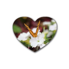 Butterfly 159 Drink Coasters (heart) by pictureperfectphotography