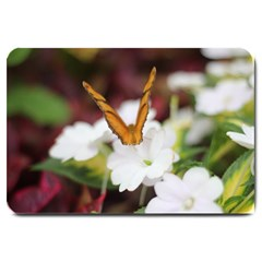 Butterfly 159 Large Door Mat by pictureperfectphotography