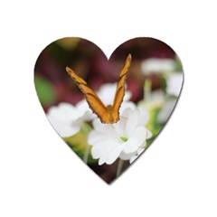 Butterfly 159 Magnet (heart) by pictureperfectphotography