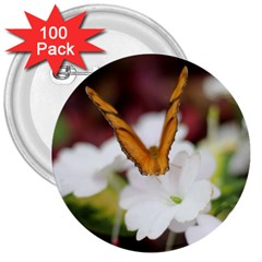 Butterfly 159 3  Button (100 Pack) by pictureperfectphotography
