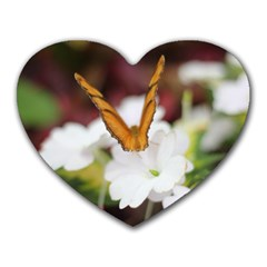Butterfly 159 Mouse Pad (heart) by pictureperfectphotography