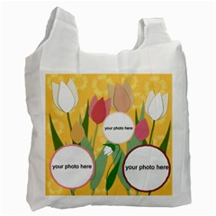 Flowers For Home Recycle Bag (2 Side) By Zornitza   Recycle Bag (two Side)   Zdonbu36fso4   Www Artscow Com Front