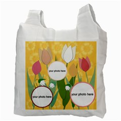 Flowers For Home Recycle Bag (2 Side) By Zornitza   Recycle Bag (two Side)   Zdonbu36fso4   Www Artscow Com Back