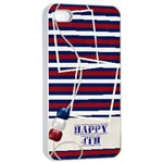 Day of Independance iPhone 4/4S Case - Apple iPhone 4/4s Seamless Case (White)