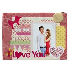 Love By Ki Ki   Cosmetic Bag (xxl)   5mdmzmtsmrqh   Www Artscow Com Back