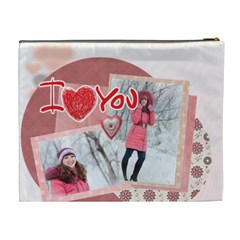 Love By Ki Ki   Cosmetic Bag (xl)   Jlrgw6w7rrif   Www Artscow Com Back
