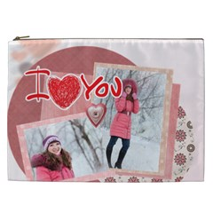 Love By Ki Ki   Cosmetic Bag (xxl)   24ie2wksqghq   Www Artscow Com Front