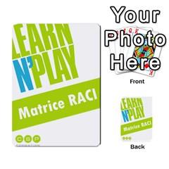 Raci By Jourdant   Multi Purpose Cards (rectangle)   Nuvyz2ktbzji   Www Artscow Com Back 30