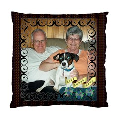 Inspirational Pillow By Joy Johns   Standard Cushion Case (two Sides)   7fsxn663hbkk   Www Artscow Com Back