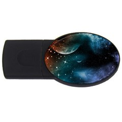 universe USB Flash Drive Oval (4 GB) by EnjoymentArt