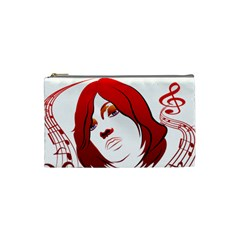 Face Cosmetic Bag (Small) by EnjoymentArt