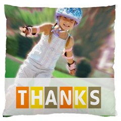 Thank By May   Large Cushion Case (two Sides)   A8y9tx43shh4   Www Artscow Com Front