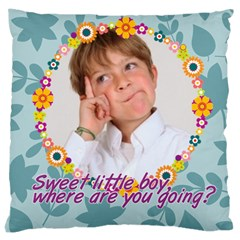 Kids By May   Large Cushion Case (two Sides)   Uygraz68bj9q   Www Artscow Com Back