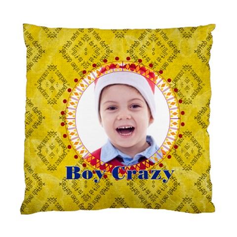 Kids By May   Standard Cushion Case (one Side)   Kbx54ikr0m1n   Www Artscow Com Front
