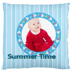 Kids By May   Large Cushion Case (two Sides)   I3pe7kwhm6zz   Www Artscow Com Front