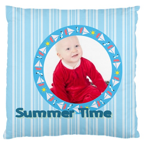 Kids By May   Large Cushion Case (one Side)   S5kgqj1enyc3   Www Artscow Com Front