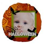 halloween - Large 18  Premium Round Cushion