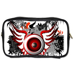 Music  Travel Toiletry Bag (two Sides) by EnjoymentArt