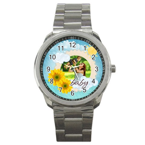 Summer By Summer Time    Sport Metal Watch   Hff435appo5a   Www Artscow Com Front