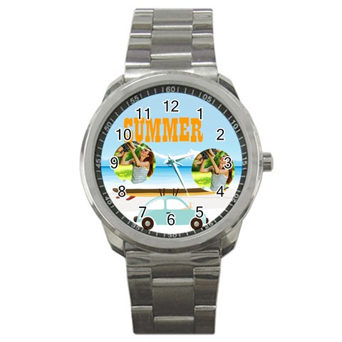 Summer By Summer Time    Sport Metal Watch   8zpt1vvbg4ds   Www Artscow Com Front