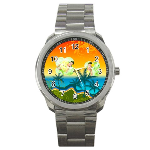 Summer By Summer Time    Sport Metal Watch   Lm3owsc523o3   Www Artscow Com Front