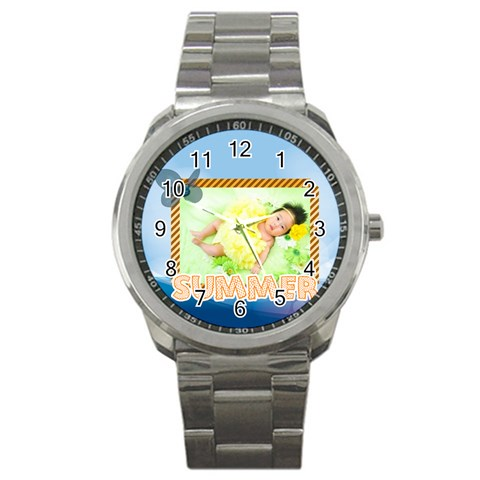 Summer By Summer Time    Sport Metal Watch   B61dtqfamp0s   Www Artscow Com Front