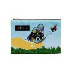 Butterfly Medium Cosmetic Bag 2 By Joy Johns   Cosmetic Bag (medium)   Pm5hhl47p8hz   Www Artscow Com Front