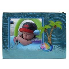 Water Fun Xxl Cosmetic Bag By Lil    Cosmetic Bag (xxl)   Ixwom5u71e5q   Www Artscow Com Back