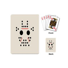 Smiling And Peaceful Dots Playing Cards (Mini)