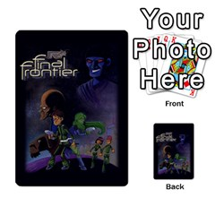 Final Frontier Gimmicks By Casque Noir   Multi Purpose Cards (rectangle)   G4nnw379ziza   Www Artscow Com Back 8