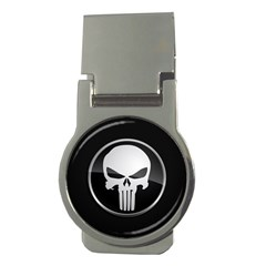 The Punisher Wallpaper  Money Clip (Round) by sterlinginme
