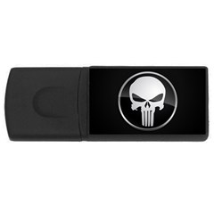 The Punisher Wallpaper  4gb Usb Flash Drive (rectangle)