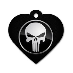 The Punisher Wallpaper  Dog Tag Heart (One Sided)