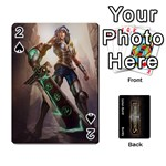 LoL front/back cards - Playing Cards 54 Designs