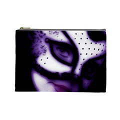 Purple M Cosmetic Bag (large) by dray6389