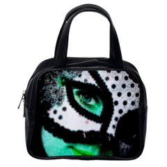 Masked Classic Handbag (one Side) by dray6389