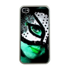 Masked Apple Iphone 4 Case (clear) by dray6389