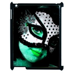 Masked Apple Ipad 2 Case (black) by dray6389