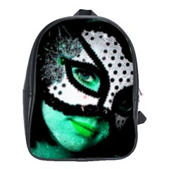 Masked School Bag (xl) by dray6389