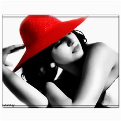 RED HAT Canvas 8  x 10  (Unframed) by dray6389