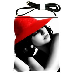 Red Hat Shoulder Sling Bag by dray6389