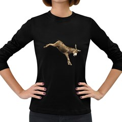 Donkey 1 Womens' Long Sleeve T Shirt (dark Colored) by gatterwe