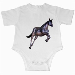 Metal Horse 1 Infant Creeper by gatterwe