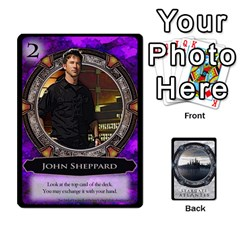 Lost Legacy   Stargate Atlantis By Ajax   Playing Cards 54 Designs   2t9hf6o95msx   Www Artscow Com Front - Spade3