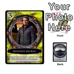 Lost Legacy   Stargate Atlantis By Ajax   Playing Cards 54 Designs   2t9hf6o95msx   Www Artscow Com Front - Spade4