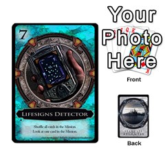 King Lost Legacy   Stargate Atlantis By Ajax   Playing Cards 54 Designs   2t9hf6o95msx   Www Artscow Com Front - HeartK