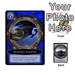 Queen Lost Legacy   Stargate Atlantis 2  By Ajax   Playing Cards 54 Designs   U2ulq4hg9y5o   Www Artscow Com Front - HeartQ