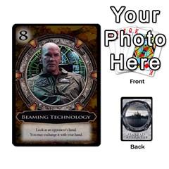 Lost Legacy   Stargate Atlantis 2  By Ajax   Playing Cards 54 Designs   U2ulq4hg9y5o   Www Artscow Com Front - Diamond5